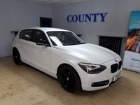 USED 2012 62 BMW 1 SERIES 2.0 118D SPORT 5d 141 BHP * TWO OWNERS WITH HISTORY *