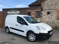 USED 2015 15 PEUGEOT PARTNER 1.6 HDI S L1 850 1d 89 BHP Finance Arranged In 60 Seconds, Extra Security Door Locks, Smart Example.