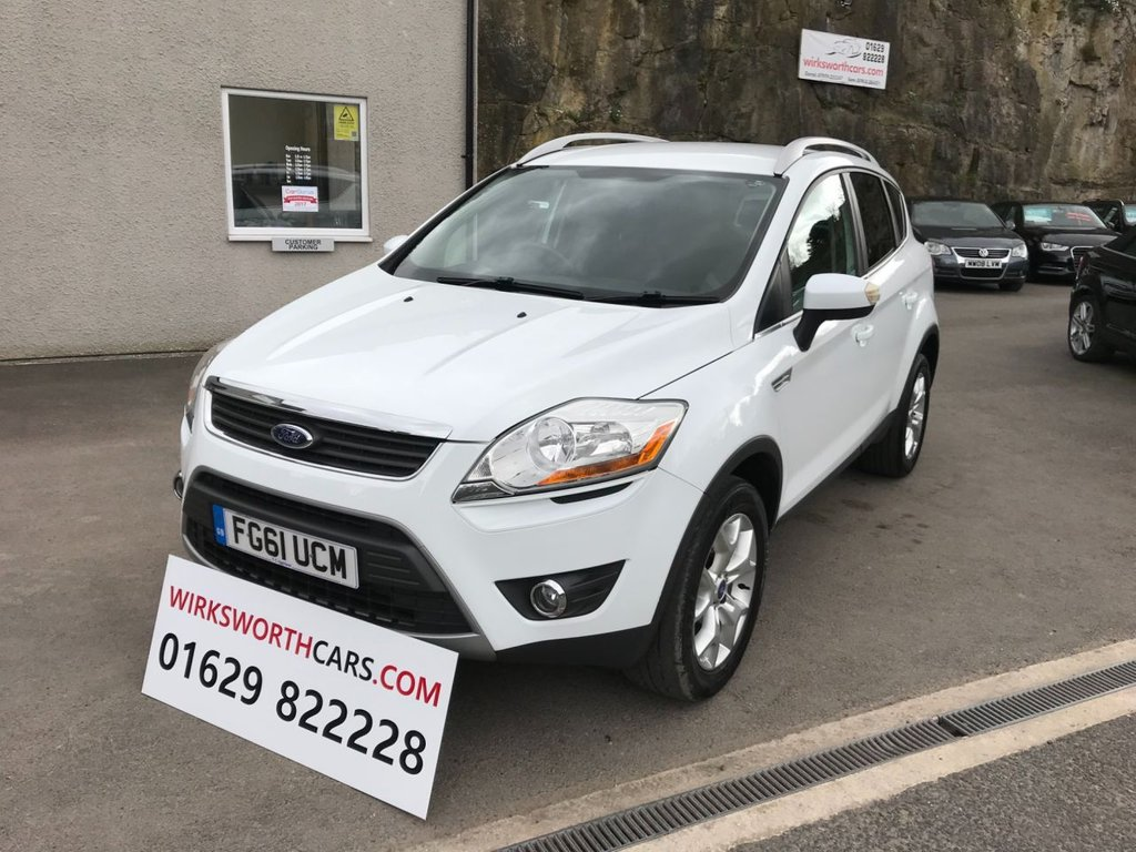 Used   Ford Kuga   Zetec Tdci Wd D  Bhp Full Service History