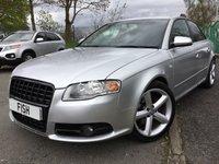 2006 AUDI A4 2.0 TDI S LINE DPF 4d 170 BHP £2790.00