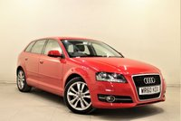USED 2010 60 AUDI A3 2.0 SPORTBACK TDI SPORT S/S 5d 168 BHP + 1 PREV OWNER  + AIR CON + AUX + BLUETOOTH + SERVICE HISTORY