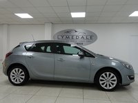 USED 2014 14 VAUXHALL ASTRA 1.6 ELITE 5d 115 BHP FULL SERVICE HISTORY, 1 OWNER, FULL LEATHER, MOT 7.5.19