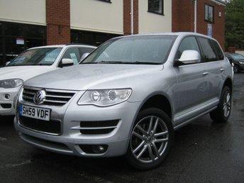 2009 VOLKSWAGEN TOUAREG 3.0 V6 ALTITUDE TDI 5d AUTO 240 BHP £10995.00