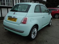 USED 2015 64 FIAT 500 1.2 LOUNGE 3d 69 BHP