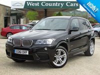 USED 2011 61 BMW X3 3.0 XDRIVE35D M SPORT 5d 309 BHP Well Equipped Family SUV