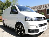 2014 VOLKSWAGEN TRANSPORTER T28 2.0 TDI Bluemotion Highline Sportline Edition £15995.00