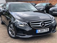 USED 2015 15 MERCEDES-BENZ E CLASS 2.1 E300 BLUETEC HYBRID SE 4dr AUTO 202 BHP 1 Owner, Full Mercedes service history.