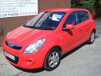 USED 2011 60 HYUNDAI I20 1.4 COMFORT 5d 99 BHP **ZERO DEPOSIT FINANCE AVAILABLE** PART EXCHANGE WELCOME