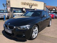 2014 BMW 3 SERIES 3.0 330D M SPORT 4d AUTO 255 BHP £16995.00