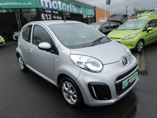 USED 2014 14 CITROEN C1 1.0 EDITION 5d 67 BHP 12 MONTHS MOT.. WARRANTY.. CALL 01543 379066