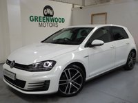 USED 2015 15 VOLKSWAGEN GOLF 2.0 TDI BlueMotion Tech GTD DSG 5dr