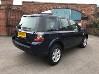 USED 2013 63 LAND ROVER FREELANDER 2.2 SD4 GS 5d AUTO 190 BHP One owner Freelander 2