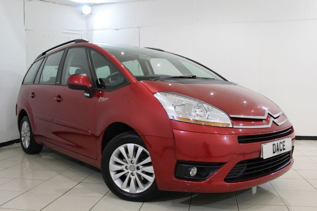View our 2008 08 CITROEN C4 GRAND PICASSO 1.6 VTR PLUS HDI 5DR 110 BHP