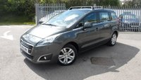 """USED 2015 15 PEUGEOT 5008 1.6 HDI ACTIVE 5d 115 BHP 17"""" ALLOY WHEELS"""