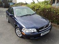 2003 VOLVO S40 1.6 S 4d 108 BHP £1288.00