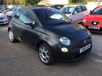 USED 2011 61 FIAT 500 1.4 MATT BLACK 3d 99 BHP