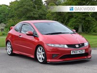 2007 HONDA CIVIC 2.0 I-VTEC TYPE-R GT 3d 198 BHP £SOLD