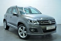 2013 VOLKSWAGEN TIGUAN 2.0 R LINE TDI BLUEMOTION TECHNOLOGY 4MOTION 5d 139 BHP £11595.00