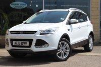 2015 FORD KUGA 1.5 TITANIUM X 5d AUTO 180 BHP £17290.00