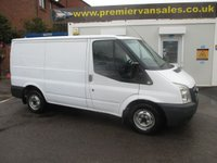 2008 FORD TRANSIT 2.2 280 SHORT WHEEL BASE, LOW ROOF, FULL SERVICE HISTORY, SHELVING FITTED £SOLD