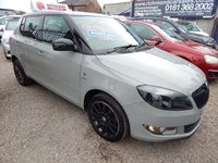 USED 2013 63 SKODA FABIA 1.2 REACTION 12V 5d 68 BHP BLACK ALLOY WHEELS, AIR CONDITIONING, CD PLAYER, F.S.H