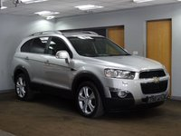 USED 2011 61 CHEVROLET CAPTIVA 2.2 LTZ VCDI 5d AUTO 184 BHP+++7 SEATER+++++++DEPOSIT RECEIVED++++