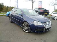 USED 2006 F VOLKSWAGEN GOLF 3.2 R32 DSG 3d AUTO 250 BHP FULL SERVICE HISTORY, SAT NAV, FULL LEATHER, CLIMATE CONTROL,  HEATED SEATS