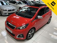 USED 2015 15 PEUGEOT 108 1.2 ALLURE TOP 3d 82 BHP CONVERTIBLE
