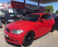2009 BMW 1 SERIES 2.0 118D M SPORT 3d 141 BHP 6 SPEED HALF BLACK LEATHER £4495.00