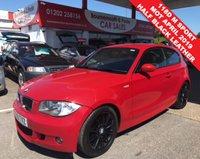 2009 BMW 1 SERIES 2.0 118D M SPORT 3d 141 BHP 6 SPEED HALF BLACK LEATHER £3995.00