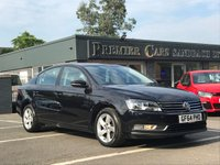 2014 VOLKSWAGEN PASSAT 1.6 S TDI BLUEMOTION TECHNOLOGY 4d 104 BHP £8790.00