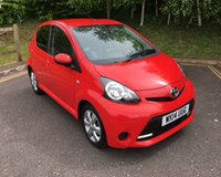 2014 TOYOTA AYGO 1.0 VVT-I MOVE WITH STYLE 5d 68 BHP £5490.00