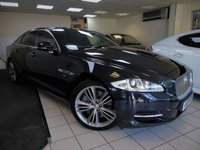 USED 2011 61 JAGUAR XJ 5.0 V8 SUPER 4d AUTO 510 BHP