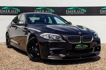 2012 BMW 5 SERIES 2.0 520D M SPORT 4d 181 BHP £13000.00