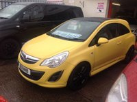 2011 VAUXHALL CORSA 1.2 LIMITED EDITION 3d 83 BHP £SOLD