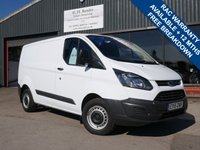USED 2015 15 FORD TRANSIT CUSTOM 2.2 290 LR P/V 1d 99 BHP LOW MILES, ONE FORMER KEEPER, FULL HISTORY