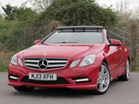 2013 MERCEDES-BENZ E CLASS 2.1 E250 CDI BLUEEFFICIENCY SPORT 2d AUTO 204 BHP £16995.00