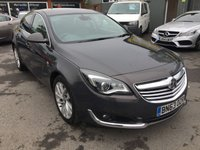USED 2013 63 VAUXHALL INSIGNIA 2.0 ELITE SAT NAV CDTI 5 DOOR AUTOMATIC 160 BHP WITH ONLY 53000 MILES APPROVED CARS ARE PLEASED TO OFFER THIS VAUXHALL INSIGNIA 2.0 ELITE SAT NAV CDTI 5 DOOR AUTOMATIC 160 BHP WITH ONLY 53000 MILES FROM NEW WITH A GREAT SPEC INCLUDING SAT NAV,GREY LEATHER,PRIVACY GLASS,AUTOMATIC AND MUCH MORE WITH A FULL SERVICE HISTORY WITH 5 SERVICE STAMPS.