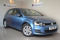 USED 2014 14 VOLKSWAGEN GOLF 2.0 SE TDI BLUEMOTION TECHNOLOGY 5d 148 BHP Immaculate - VW + One Private Owner  - Full VW Service History - Bluetooth - Parking Sensors - Must Be Seen