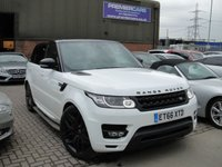 USED 2017 66 LAND ROVER RANGE ROVER SPORT 3.0 SDV6 HSE DYNAMIC 5d AUTO 306 BHP ANY PART EXCHANGE WELCOME, COUNTRY WIDE DELIVERY ARRANGED, HUGE SPEC