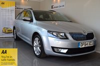 USED 2015 64 SKODA OCTAVIA 2.0 ELEGANCE TDI CR 5d 148 BHP Immaculate - Satellite Navigation - Half Leather - Main Dealer + One Private Owner - Full Skoda Service History - Parking Sensors - Cruise Control - Must Be Seen