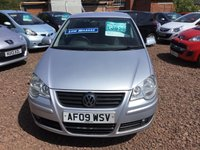 USED 2009 09 VOLKSWAGEN POLO 1.2 MATCH 5d 68 BHP