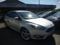 USED 2015 15 FORD FOCUS 1.6 ZETEC TDCI 5d 114 BHP NEED FINANCE? WE CAN HELP!
