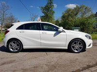 USED 2014 64 MERCEDES-BENZ A CLASS 1.5 A180 CDI BLUEEFFICIENCY SPORT 5d 109 BHP BUY 12 MONTH RAC WARRANTY FOR £195.00 GET 2ND YEAR FREE !!!!!