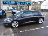 USED 2009 59 VOLKSWAGEN SCIROCCO 2.0 GT TDI 3d 140 BHP ONLY 75000 MILES FROM NEW