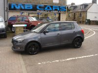 USED 2012 12 SKODA FABIA 1.6 MONTE CARLO TDI CR 5d 75 BHP ONLY 45000 MILES FROM NEW AND £20 A YEAR ROAD TAX