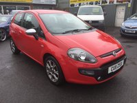USED 2011 11 FIAT PUNTO EVO 1.4 MULTIAIR GP 3d 105 BHP IN BRIGHT RED WITH ONLY 41000 MILES APPROVED CARS ARE PLEASED TO OFFER THIS FIAT PUNTO EVO 1.4 MULTIAIR GP 3 DOOR 105 BHP IN BRIGHT RED WITH ONLY 41000 MILES IN IMMACULATE CONDITION WITH A REAT SPEC INCLUDING A 6 SPEED GEARBOX,ABS,ALLOTS,CD,AIR CON,E/WINDOWS,PRIVACY GLASS AND 2 KEYS WITH A FULL SERVICE HISTORY SERVICED AT 7K,18K,26K AND 29K.