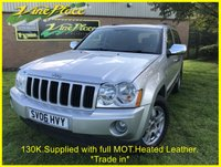 USED 2006 06 JEEP GRAND CHEROKEE 3.0 V6 CRD 5d 215 BHP +SUPPLIED WITH FULL MOT+