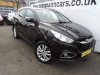 USED 2011 61 HYUNDAI IX35 2.0 PREMIUM CRDI 4WD 5d 134 BHP One Owner+Glass Sunroof+Half Leather