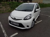 USED 2013 62 TOYOTA AYGO 1.0 VVT-I ICE 5d 68 BHP LOW ROAD TAX!!
